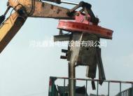 MW5挖掘机配套起重电磁吸盘厂家直销,价格低,电磁吸盘厂家,